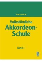 Volkstümliche Akkordeon-Schule Band 1