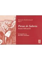 Piezas de Salterio. Sonaten VIII und IX