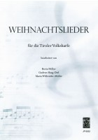 Weihnachtslieder für die Tiroler Volksharfe