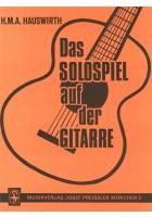 Das Solospiel auf der Gitarre