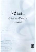 36 leichte Gitarren-Duette