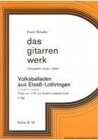 Volksballaden aus Elsaß-Lothringen, 1. Teil