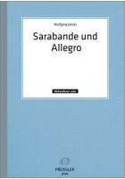 Sarabande und Allegro