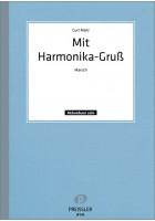 Mit Harmonika-Gruß
