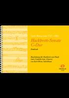 Hackbrett-Sonate C-Dur