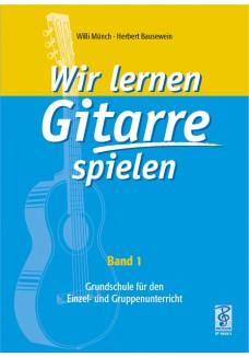 Wir lernen Gitarre spielen, Band 1