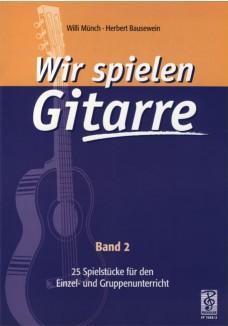 Wir spielen Gitarre, Band 2