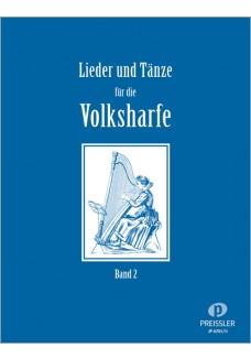 Lieder und Tänze für die Volksharfe, Band 2